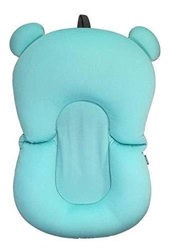 Almofada de banho para bebê azul baby infantil anatômica