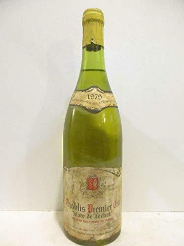 chablis jean-jack fourrey premier cru côte de léchet (b4) blanc 1979 - bourgogne