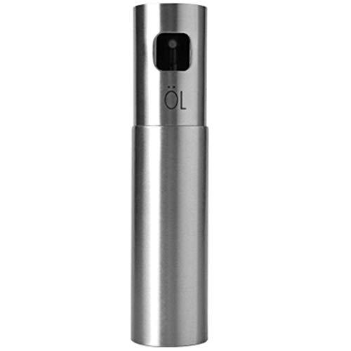 Webla - Spray de aceite para cocina/barbacoa, 100 ml, dispensador de aceite de oliva para cocinar, botella de acero inoxidable a prueba de fugas, para barbacoa/cocina/ensalada