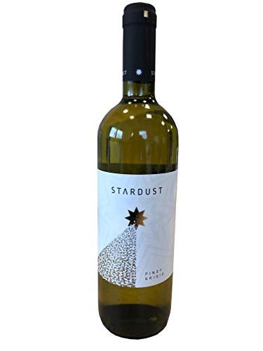 0,75L STARDUST Pinot Grigio Weißwein trocken Mazedonien 2016, 14,6%