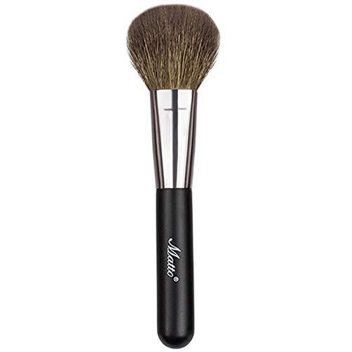 Matto Goat Hair Powder Mineral Blush Brush Travel Size Natural Wool Brush 1 Piece