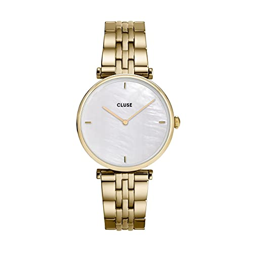Montre Femme Cluse Triomphe Gold White Pearl/Gold