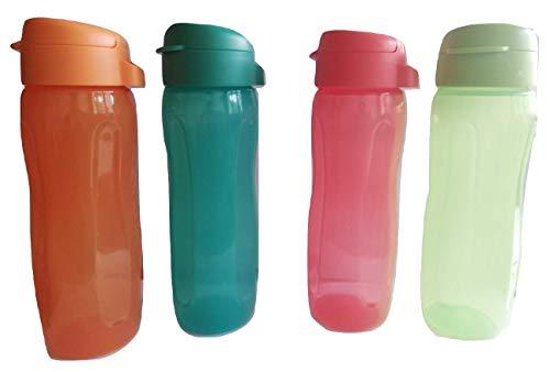 Tupperware Aquaslim - Botella (500 ml cada uno) (4 unidades)