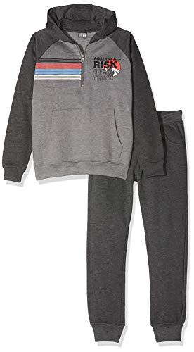 Losan Jungen 923-8662aa Sportbekleidung Set, Grau (Gris Oscuro Vigore 540), Jahre (Herstellergröße: 14)
