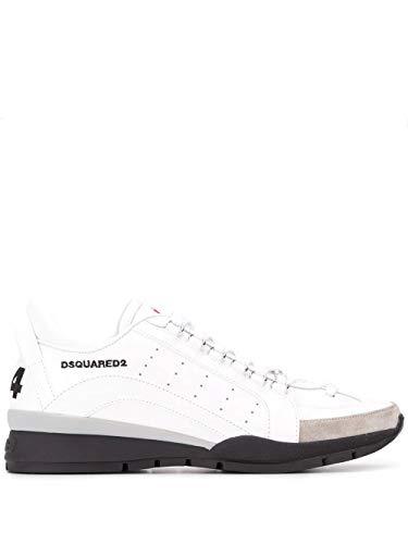 Fashion | Dsquared2 Snm0505065B0001M1048 Zapatillas Blancas |, Color Blanco, Talla 42 1/3 Eu