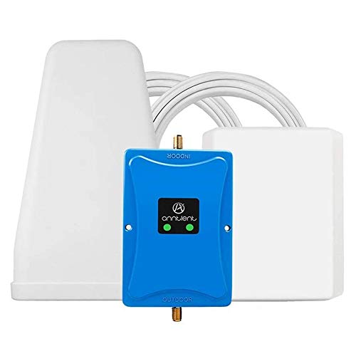 ANNTLENT 700MHz Cell Phone Signal Booster for Verizon AT&T T-Mobile - Band 12 13 17 4G Cellular Repeater LTE Mobile Phone Signal Amplifier Kit for Home and Office Up to 5,000Sq Ft Area