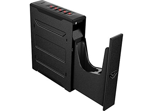 Vaultek Essential Series Quick Access Handgun Safe with Auto Open Lid Pistol Safe Rechargeable Lithium-ion Battery (Not Compatible with Smart Key)