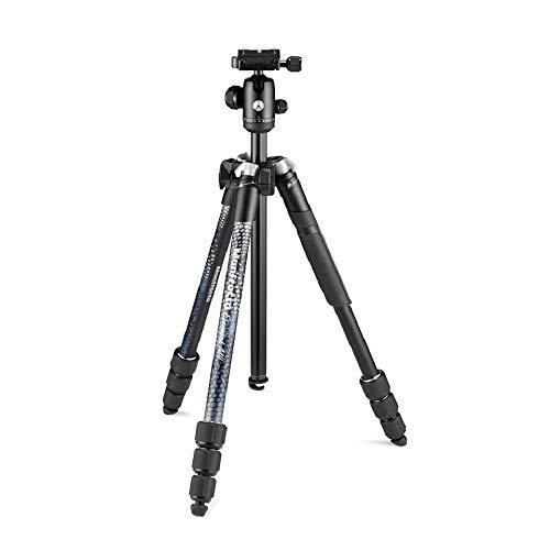 Oferta de Manfrotto Element MII - Trípode de Viaje de Aluminio con Cabezal Esférico y Bolsa de Transporte para Cámaras Compactas, CSC, DSLR, Accesorios de Fotografía para la Creación de Contenidos y Vlogging