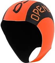 ORCA HI VIS Orange Neoprene Swim Cap
