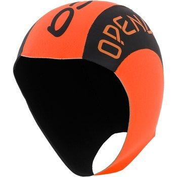 ORCA 2020 Bonnet de bain en néoprène Orange Taille L/XL