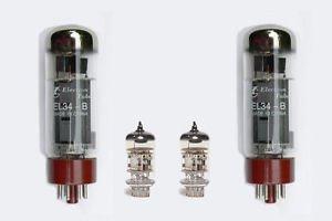 Jellyfish Audio EL34 & 12AX7/ECC83 Kit De Válvula Para Blackstar HT Studio...
