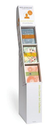 Moleskine Cover Art Corrugate Display