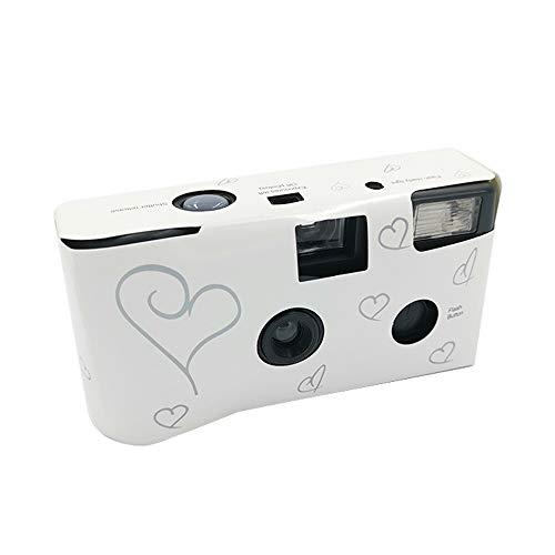Mini cámara microcámara, cámara de película instantánea desechable de un Solo Uso HD, Ideal como cámara de Boda, cámara de Aniversario