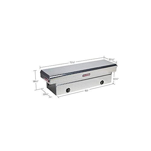 Price comparison product image Weather Guard 127002 Aluminum Saddle Box