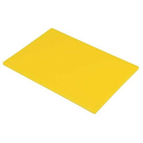 Genware y1812 gele polysnijplank, 45,7 x 30,5 x 1,3 cm