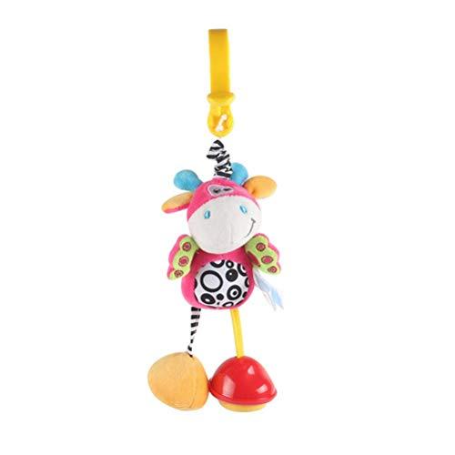 Juguetes sensoriales, juguetes sensoriales de agua dulce para bebés, juguetes de sonajero para colgar para bebés, juguetes para cochecitos con clip para cochecito y silla de paseo y asiento de coche,