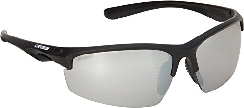 Cressi Oahu / Rocky Premium Sportbrille - Polarisiert, Entspiegelt mit 100{415eed85a79ebadbb247fedb8d8ba771f67a66dfd90c0b547246408ecfd8f9c2} UV-Schutz