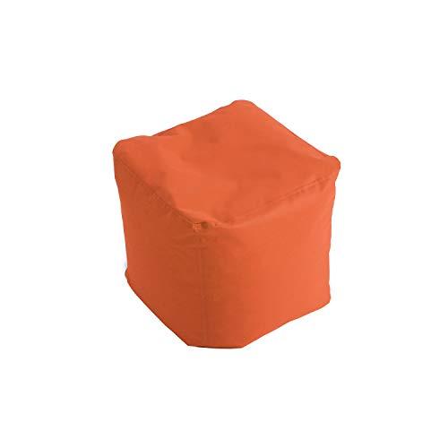 knorr-baby 440203 - Sgabello quadrato, misura M, colore Arancione