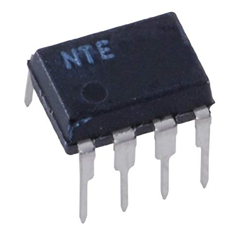 NTE Electronics NTE1641 Integrated Circuit, 1024 Stage BBD for Audio Signal Delays, 8-Lead DIP