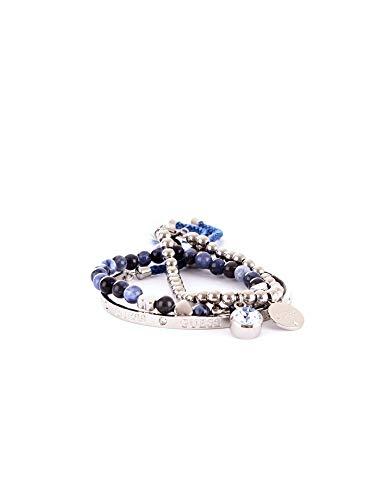 Luxury Fashion | Guess Dames JUBS80070JWARGENTO Zilver Metaal Armbanden | Seizoen Outlet
