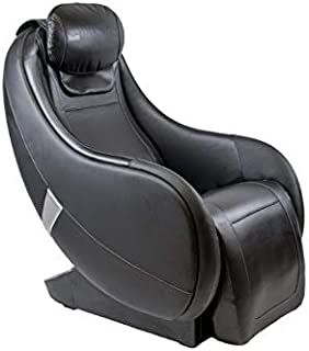 Infinity Riage CS - Massage Chair Featuring Zero Gravity, Lumbar Heat, and 4 Node Massage Robot - Classic Black