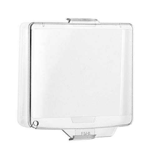 Fotover Protector de pantalla transparente BM-8 de repuesto para cámara réflex digital Nikon D300, 2 juegos