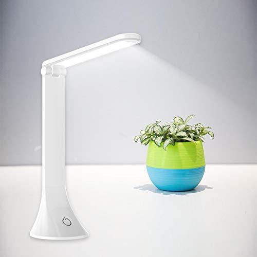 Lámpara Escritorio Mesa LUZ de escritorio LED USB ajustable protector de ojos plegable 2000mAh niños recargables toque lámpara de escritorio office dormitorio lámpara de lectura 2000mAhRechargeable