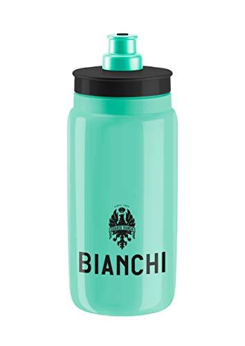 Bianchi - Trinkflasche Fly 2019, Fassungsvermögen 550 ml, Farbe CK16 glänzend (Neon-Weiß) mit Logo C9010133