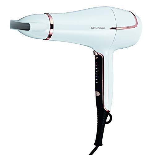 Grundig HD7880 Touch Control - Secador de pelo (2200 W, regulación de temperatura continua)