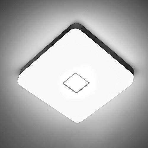 NOWES Smart LED Deckenleuchte, 24W 2400LM Wifi Deckenlampe Dimmbar, Kompatibel mit Alexa, Google Assistant, CRI 90+, IP54, Deckenlicht für Kinderzimmer, Wohnzimmer, Schlafzimmer
