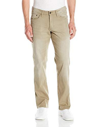 IZOD Men's Comfort Stretch Straight Fit Jean