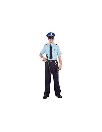 DISBACANAL Disfraz polica Local para Hombre - -, L