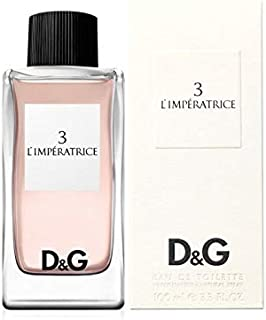D&G No.3 Eau de Toilette 100ml Women