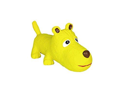 Nobby Latex Hund gelb 19 cm