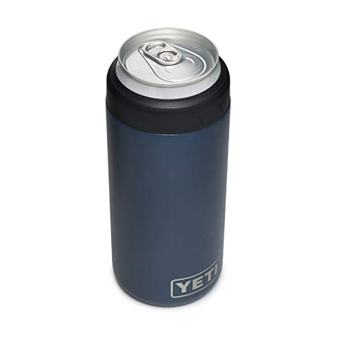 YETI Rambler 12 oz. Colster Slim Can Insulator for The Slim Hard Seltzer Cans, Navy