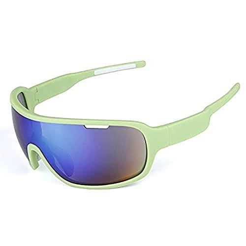 Portonss Gafas de Ciclismo TR90 Anticross Polarizing Motion Sunglasses Hombres y Mujeres Que montan Guantes de Pesca en un Guante
