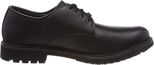 Timberland Herren Stormbuck Plain Toe Waterproof Oxford Schuhe, Schwarz (Black Smooth), 40 EU