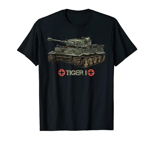 Seconda Guerra Mondiale 2 Tigre Carro armato tedesco I (1) Maglietta