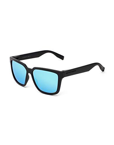 HAWKERS Motion Gafas de Sol, Carbon Black · Clear Blue, Talla única Unisex Adulto