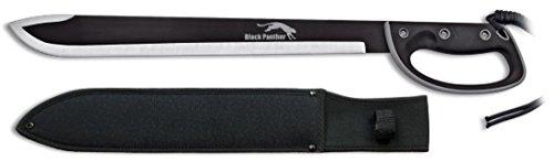 Martinez Albainox Lange Machete Black Panther mit Handschutz