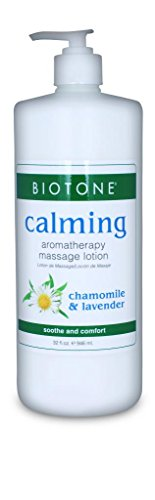 BIOTONE Calming Aromatherapy Massage Lotion - 32oz