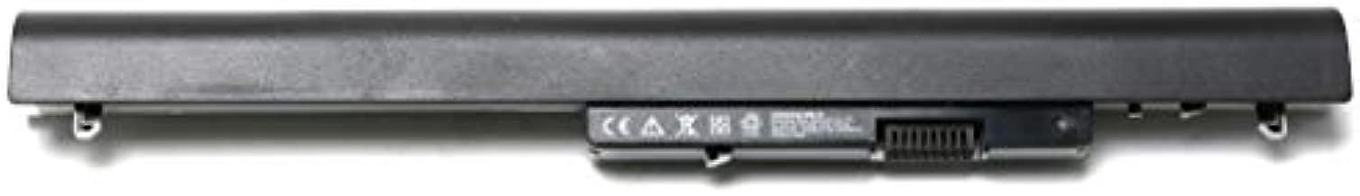 Laptop Battery for HP 776622-001 728460-001 752237-001 728460-001 LA04 LA04DF TPN-Q129 TPN-Q130 TPN-Q131 TPN-Q132 Replacement for HP Pavilion Touchsmart 14 15 Notebook PC Series