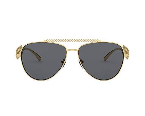 Versace 0VE2219B Lunettes de Soleil, 0, 59 Mixte