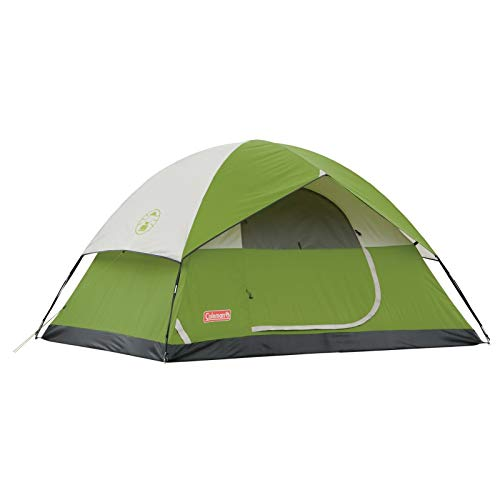 Coleman Sundome 4-Person Tent, Green (Renewed)