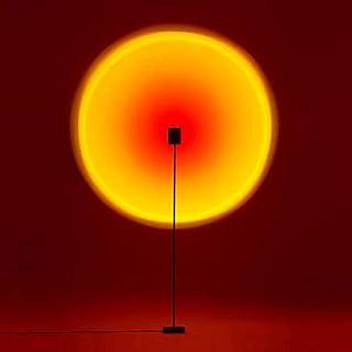 GreenSun レインボーサンセットライト フロアスタンド ledフロアスタンド 電気スタンド 高輝度 部屋インテリア 北欧 led おしゃれ 間接照明 撮影/パーティー/宴会に適用 照明灯(赤)