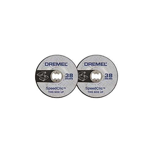Dremel SC541 EZ SpeedClic - Disco Amolador, Accesorio para Herramientas Rotatorias, Diámetro de Trabajo 38 mm
