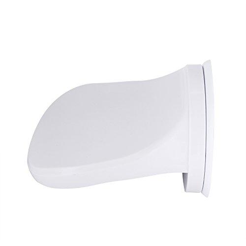 Garosa Fußstütze mit Saugnapf rutschfeste Dusche Fuß Unterstützung für Rasur Badewanne Badezimmer