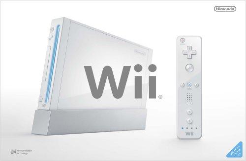Wii本体 (シロ) (「Wiiリモコンジャケット」同梱) (RVL-S-WD) 【メーカー生産終了】