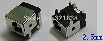 Gimax 100pcs DC Power Jack Connector for Asus F5SL F5SR F5V F5VI F5VL F5Z L3400S F80CR F81SE X82S X88S Lenovo Z470 Z475 E43 E43A E43G