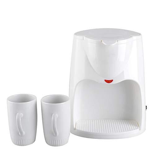 Basage 500W 2 Tazas de Café por Goteo AutomáTico EléCtrico Espresso Té...